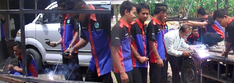 Kegiatan ekstra kurikuler SMK Darul Istiqomah..
